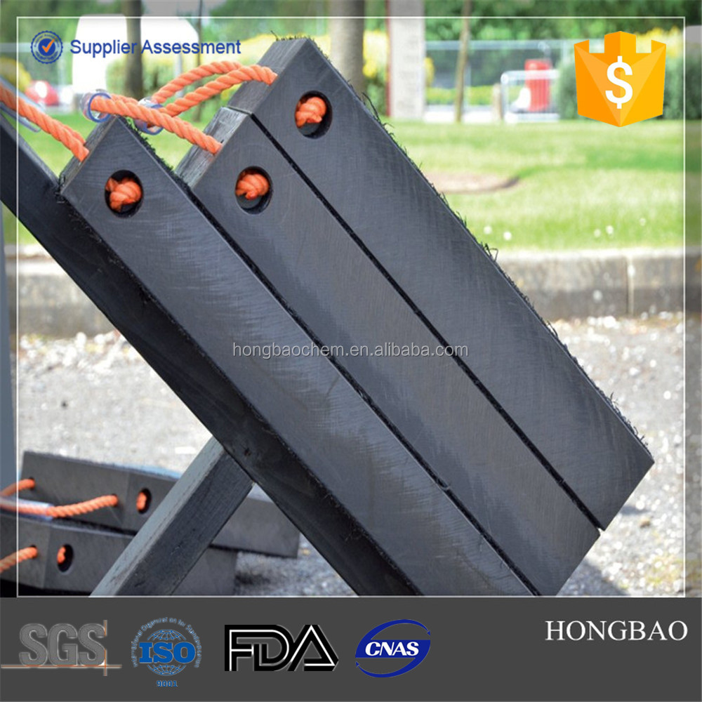 CURRENT GOODS IN STOCK 500 x 500mm black uhmwpe crane outrigger pads