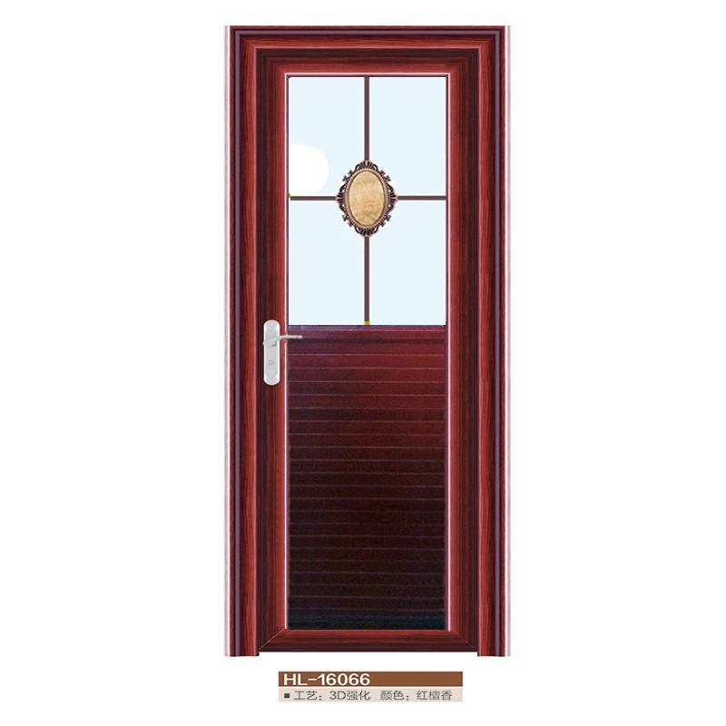 2016 Baodu Türen Neue Design Schwingen Open Style Aluminium Bad Türen Mit  Glaseinsatz