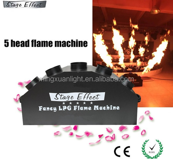 Hoge kwaliteit stage effect 5 heads spray vlam machine