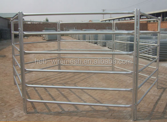 rail galvanized ranch farm fencing used fence panels