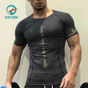 blank compression shirts 2018 New arrival Custom Bjj Made mma rash guards