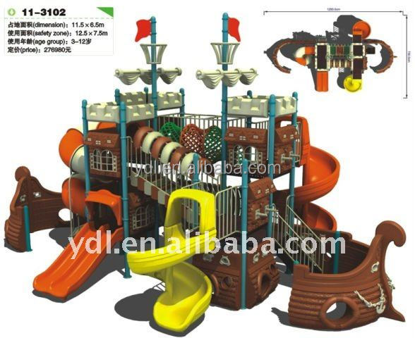 Castle Theme Outdoor Playground (CE approval)