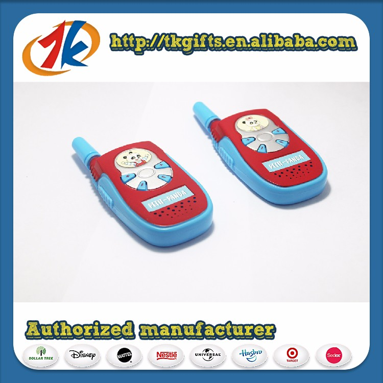 Best selling child toy New Mini plastic walkie talkie toy