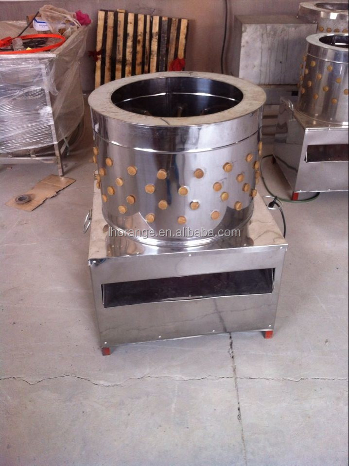 Poultry feather removal machine / Automatic chicken plucker