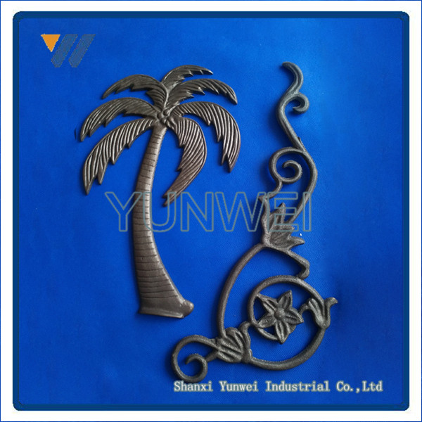 Promotional Best Selling Cast Iron Gate Decorative Leaves Product For Good Sale