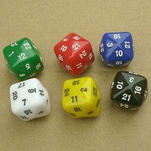 24 large digital games Warcraft multi accessories magic group ran sieve polyhedral dice