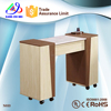 Salon nail technician tables for sale/manicure table nail bar wholesale/nail manicure marble top table KM-N033