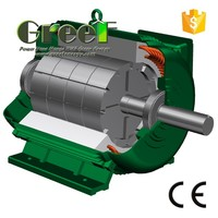 AC Alternators for wind use 5kw 350RPM permanent magnet low RPM generators magnetic motor