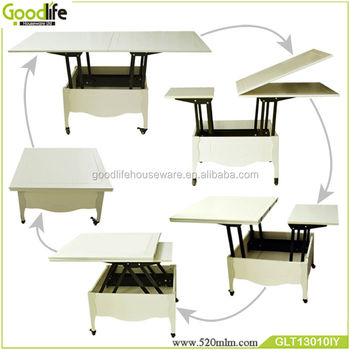 multifunctional wooden folding dining table coffee table - buy