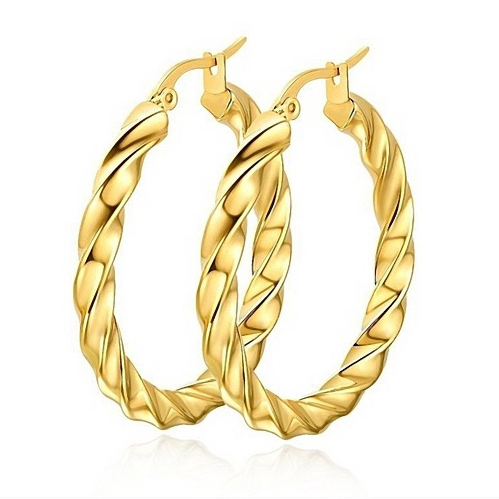 New Fashion Best Place To Earrings Online Hoop Stainless Steel