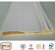 Primed finger joint wood wall trim moldings skirting boards