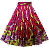 lastes design wax print ankara african clothes women long maxi skirts with pocket