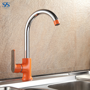 Sanitary Ware Price CSA Approved Brass Valves Red Kitchen Faucet