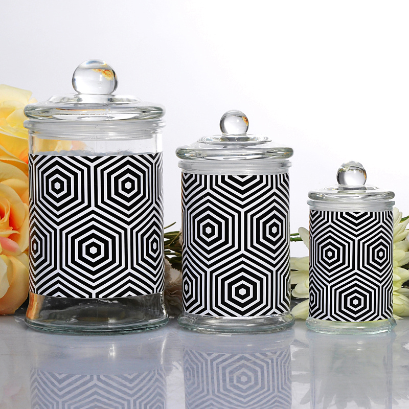 borosilicate bottles glass storage jars