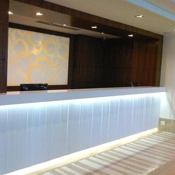 Design Moderne L-förmigen Rezeption Salon Rezeption Zähler Für Hotel-lobby(  Tw- Mart- 146) - Buy Salon Empfang Zähler,Service ...