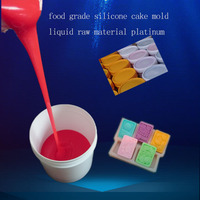 food grade silicone cake mold liquid raw material platinum