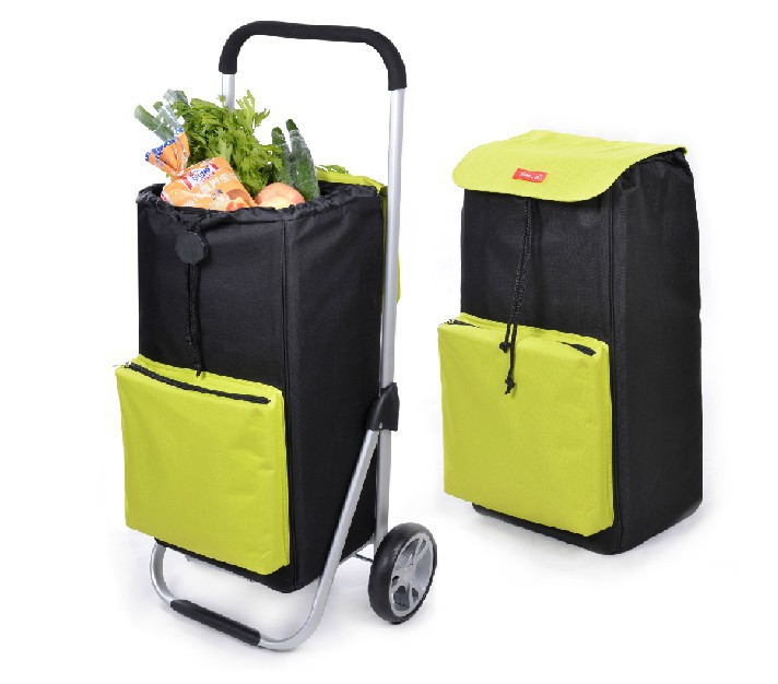 Portable Folding Shopping Bag With Wheels - Buy Shopping Bag ...