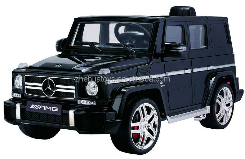newest big ride on car 12v mercedes benz g63 licensed double door open battery operated baby
