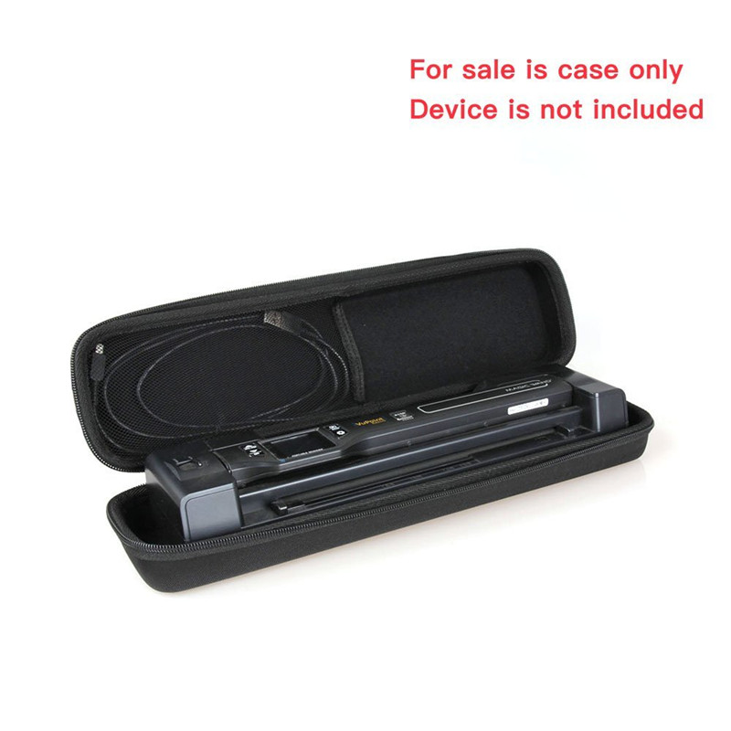 Vupoint Portable Magic Wand Scanner Auto-Feed Docking Station LCD Hard Case Blk