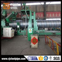 ASTM a252 spiral welded pipe/spiral welded carbon steel pipe/oil and gas pipeline 24
