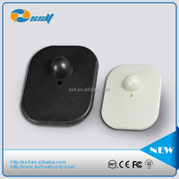 Eas Rf Hard Tag Flat Square New ABS, Strong plstic High Q value, Anti-theft security source hard tag