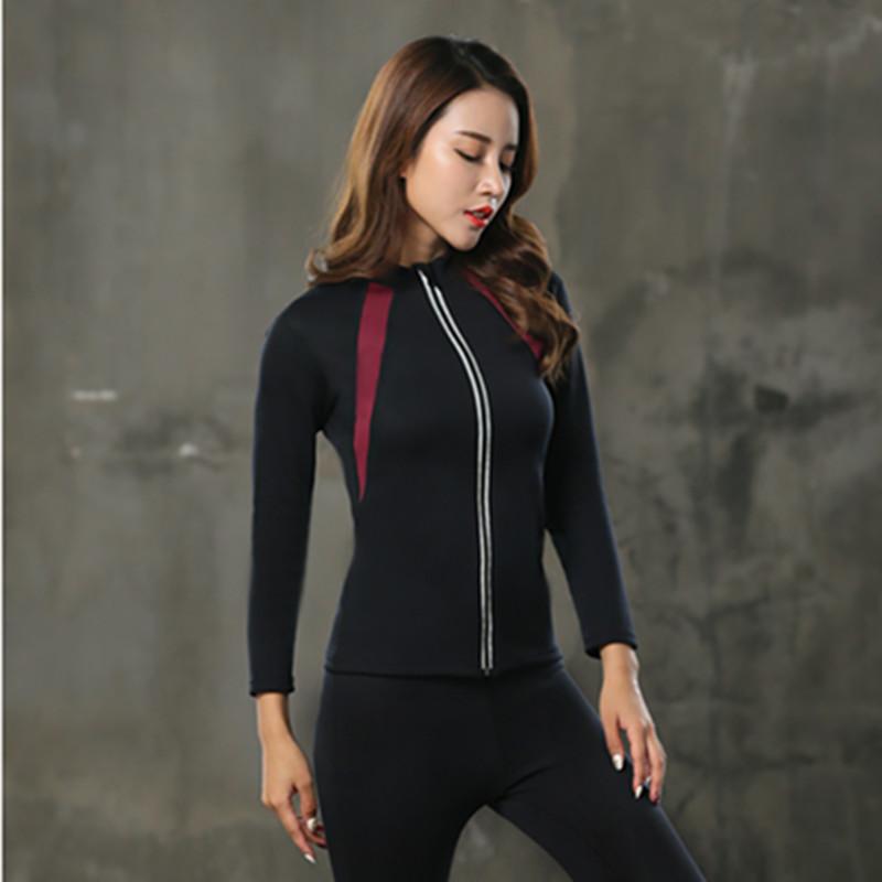 New Arrival Hot Ultra Sweat Sauna SCR Neoprene Long Sleeve Sport Clothing