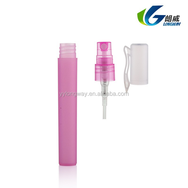 plastic perfume atomizer yuyao mini travel refillable cosmetic or medical bottle perfume pen spray