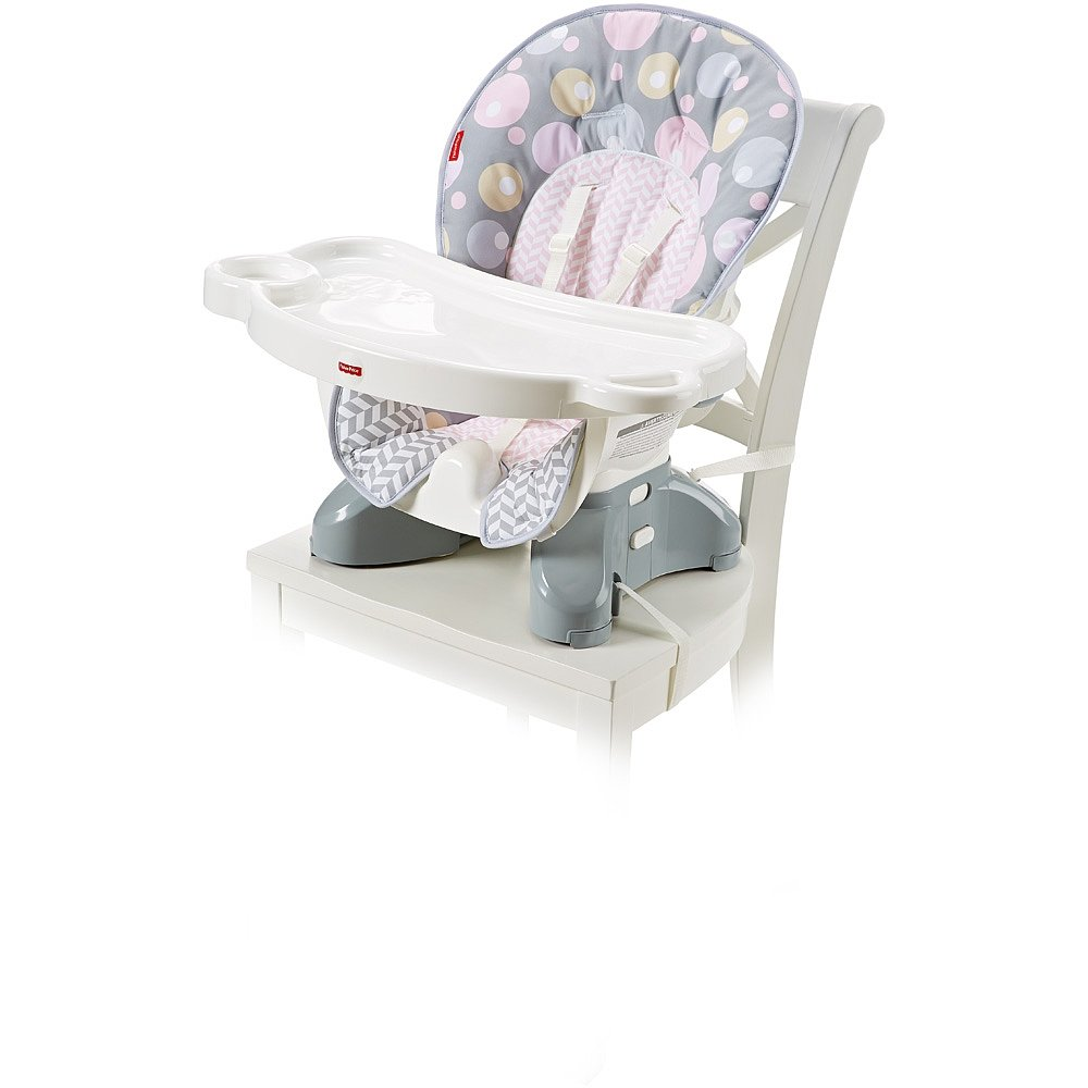 Fisher-Price SpaceSaver High Chair Pad, Brilliant Blush