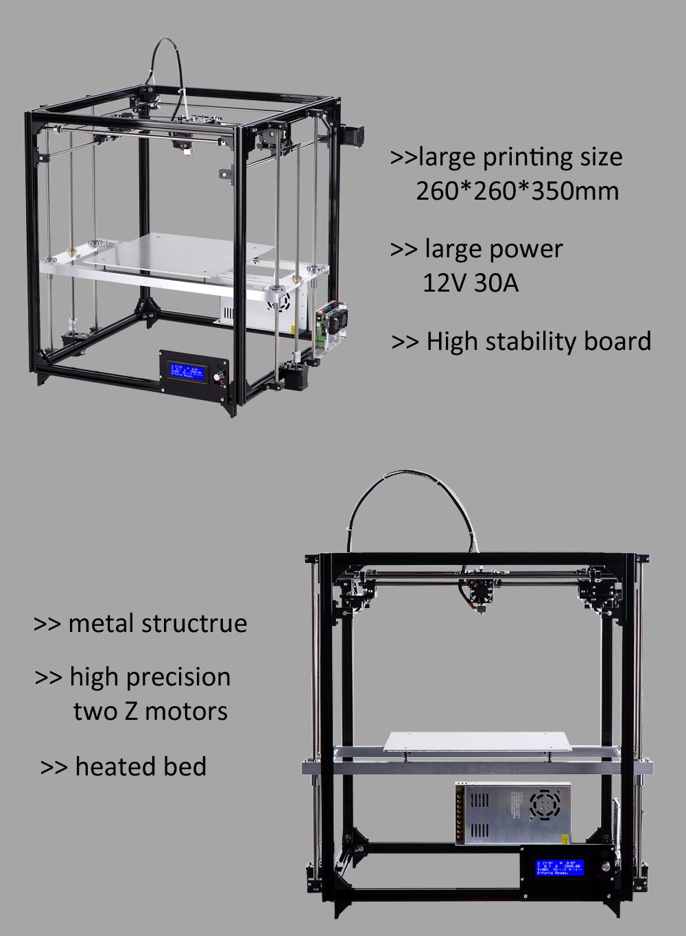 ⊱Flsun Cube 3d Printer ᐊ Metal Metal Frame Large Printing