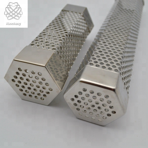 12 inch hexagon 304 stainless steel feature smoker grill pellet tube