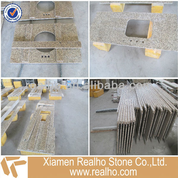 yellow mum stone bar counter design
