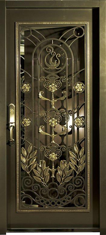 Entrada puertas de forja puertas identificaci n del for Precio de puertas de forja
