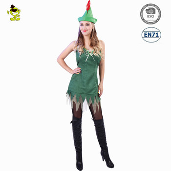 Wholesale Party sexy woman robin dress cosplay costume for adult