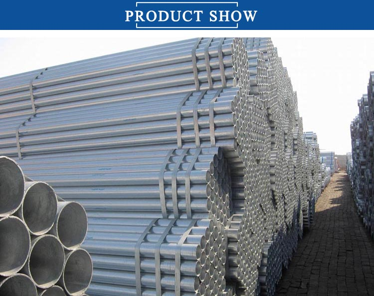 Mytext Galvanized Steel Pipe  2