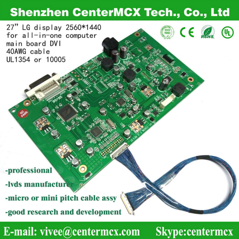 jae wire harness printed circuit boards with cable assembly