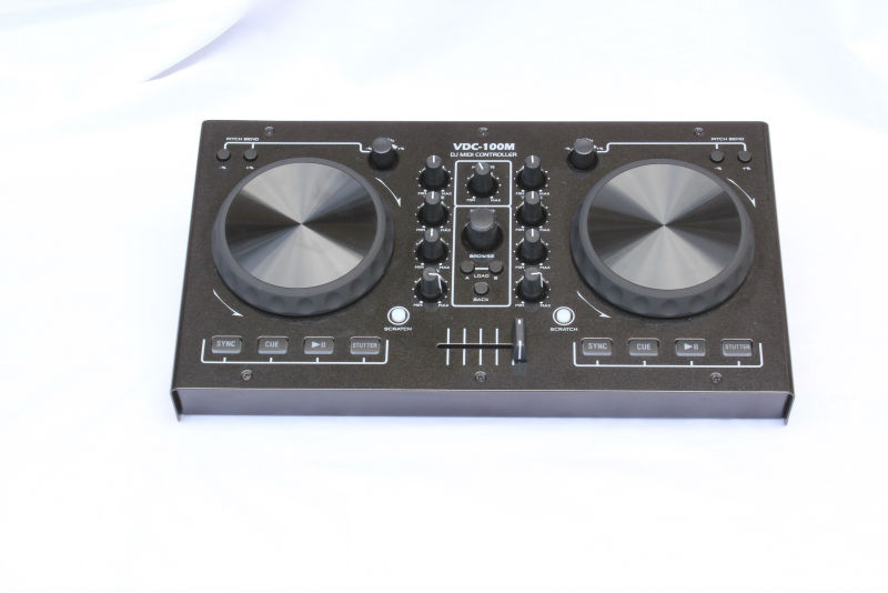 VDC-100M CE certificate hot sale professional virtual DJ software DJ Midi Controller