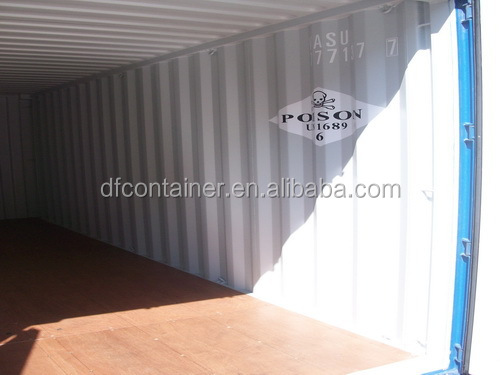 40'GP ISO dry cargo shipping container CSC certificate ISO 668 1496
