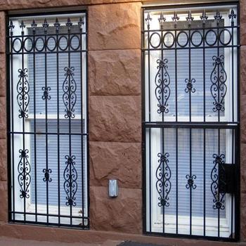 Modern Wrought Iron Window Grills 4