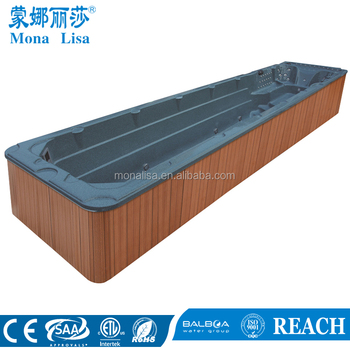 Longest Whirlpool Outdoor Swimming Pool Outdoor Swim Spa Hot Tub Massage  Bathtub Swim Pool