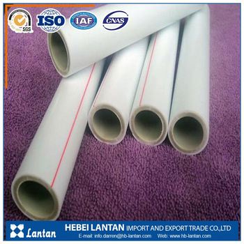 plastic ppr water supply pipe manufacture
