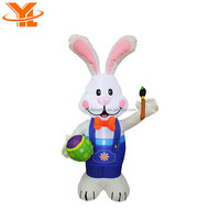 Happy Easter Decoration 3M Oxford Easter Rabbit