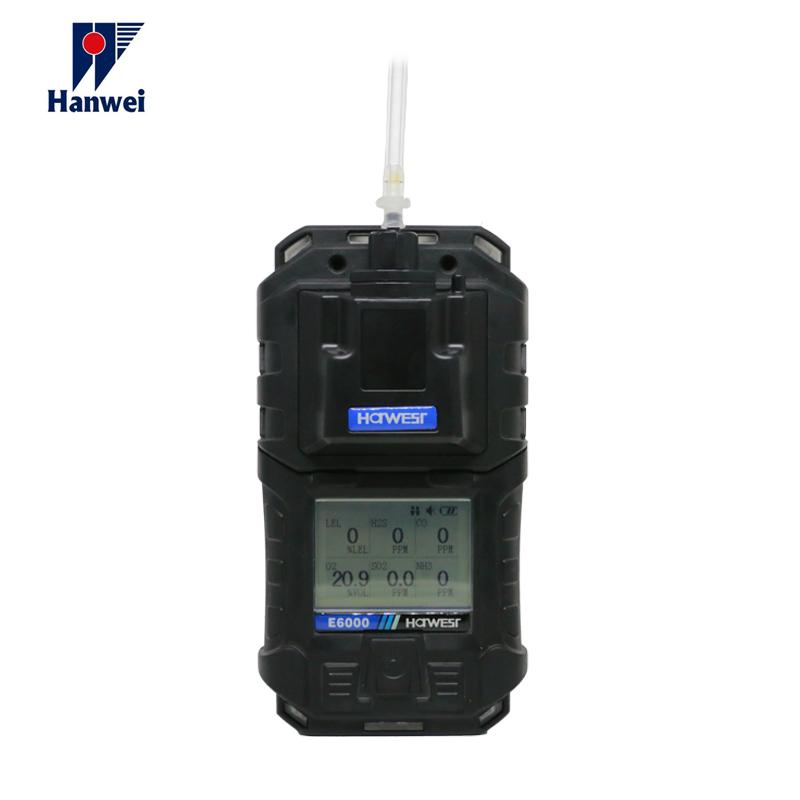 Hanwei E6000 çoklu gaz detektörü Için SO2 HCL HIÇBIR NO2 HCN PH3 gaz monitörü Dedektörü