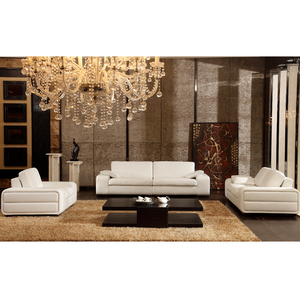 Custom Made Cowhide Contemporary Sofa Italian Leather Couch Modern Living Room