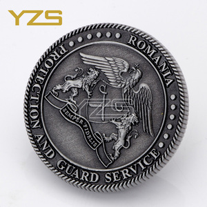 factory in China custom challenge eruo old medieval coin