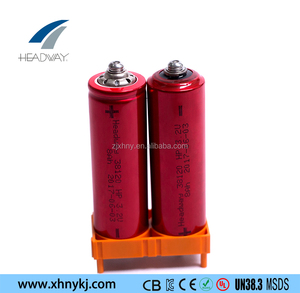 Headway rechargeable lifepo4 high power lithium ion Hybrid vehicle battery 38120HP 3.2V 8Ah