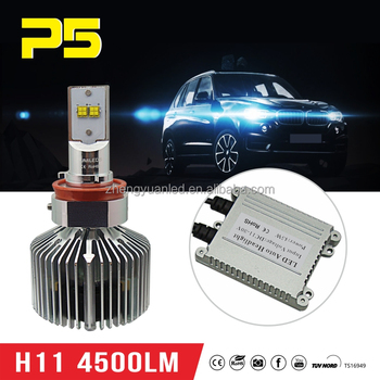 Super Brightness Led Headlight H11 H8 Car Headlamp 45w 4500lm Buy