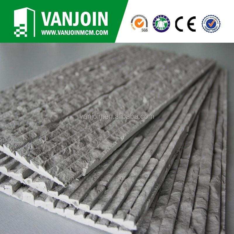 Grey Acid Resistance Soft Flexible Split Face Brick Exterior Tiles ...