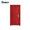 China Wholesale Knotty Pine Louvered Wood Door, Dining Room Wooden Men Door