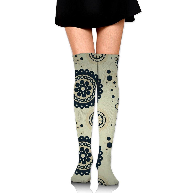 Zaqxsw Sun Women Vintage Thigh High Socks Long Socks For Teen Girls