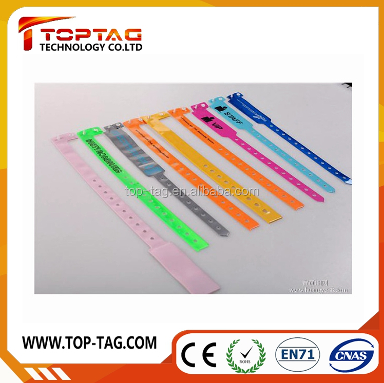 Unique QR code RFID one time bracelet/wristband with Ultralight Ev1chip